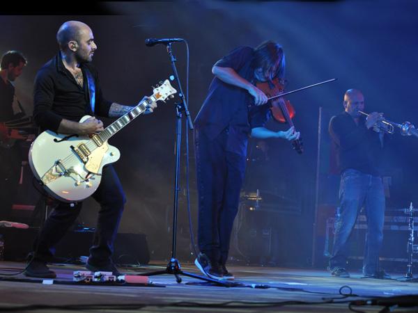 Paléo Festival 2010, Nyon: Da Silva, July 24, Chapiteau.