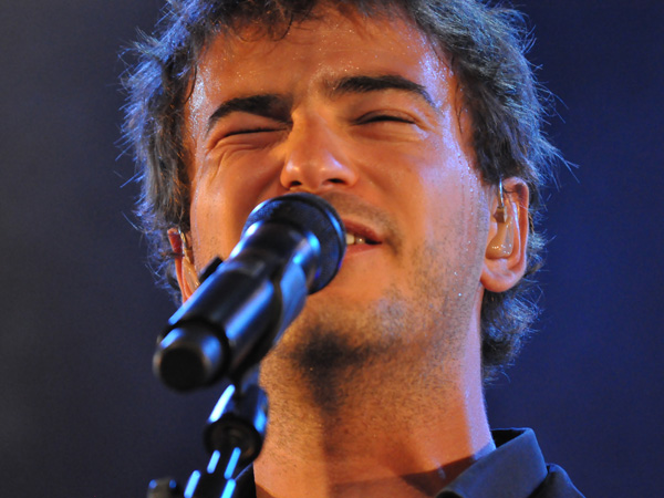 Paléo Festival 2010, Nyon: Renan Luce, July 25, Chapiteau.