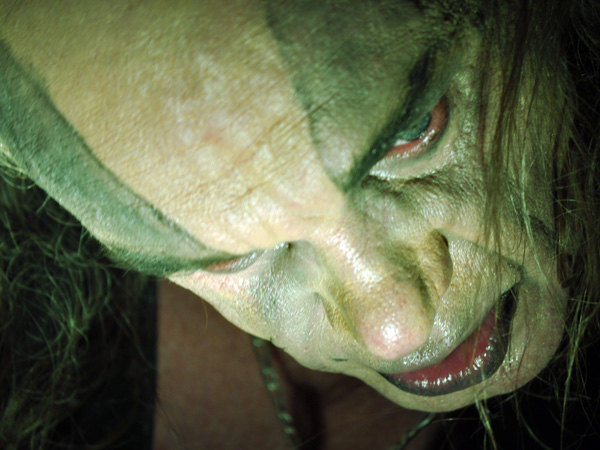 Gens de la Lune (France), Prog'Résiste Convention, Spirit of 66, Verviers (Belgium), Saturday, October 9, 2010. Le nouveau groupe de Francis Décamps (Ange).