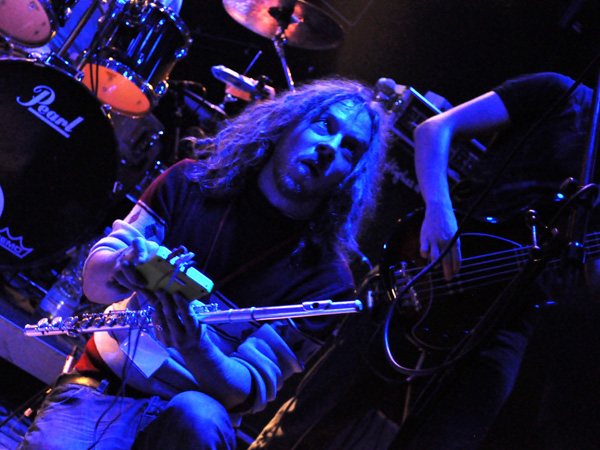 Overhead (Finland), Prog'Résiste Convention, Spirit of 66, Verviers (Belgium), Saturday, October 9, 2010.