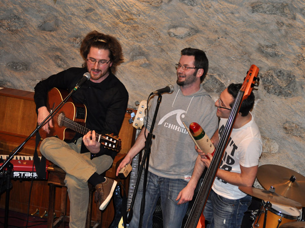 Albert et les Intermutants, Caveau du Coeur d'Or, Chexbres, samedi 26 février 2011.