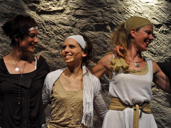 La Vie Secrète des Plantes, Escapades du Festival Voix de Fête 2011, Caveau du Coeur d'Or, Chexbres, vendredi 11 mars 2011.
