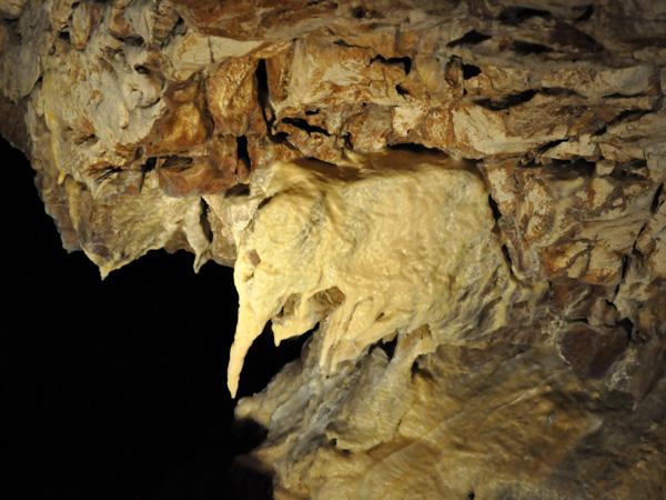 Au coeur des Grottes de Vallorbe, 30 avril 2011.