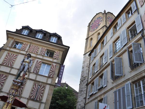 Neuchâtel, région des Trois-Lacs, 21 mai 2011.