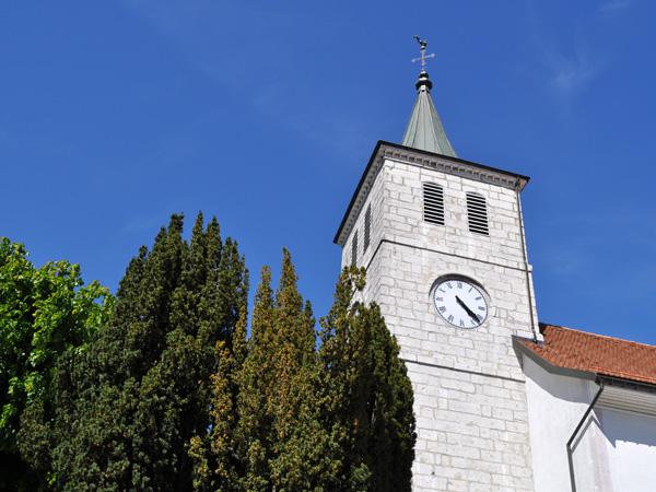 Sainte-Croix, dans le Jura vaudois, au-dessus d'Yverdon-les-Bains, 29 mai 2011.