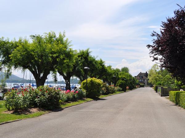 Balade à La Neuveville, au bord du lac de Bienne. Région des Trois-Lacs, 4 juin 2011.