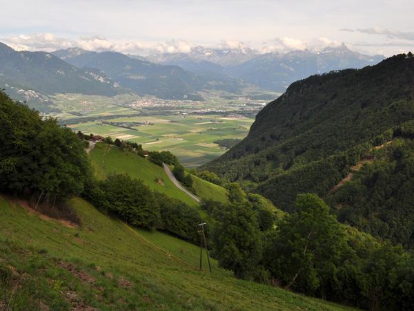 Balade sur le plateau de Vésenand (Miex, Le Flon), entre Vouvry en plaine et le lac de Tanay au-delà du col du même nom, 12 juin 2011.