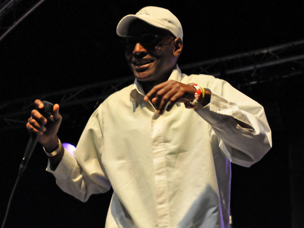 Montreux Jazz Festival 2011: Los Guasoneros (salsa from Cuba), July 1, Music in the Park, Parc Vernex.