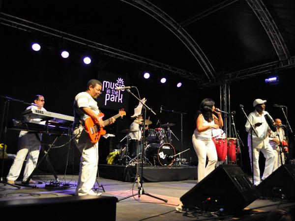 Montreux Jazz Festival 2011: Los Guasoneros (salsa from Cuba), July 1, Music in the Park, Parc Vernex.