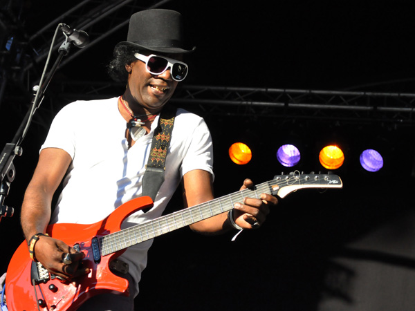 Montreux Jazz Festival 2011: Ladell McLin (blues from Chicago), July 2, Music in the Park, Parc Vernex.