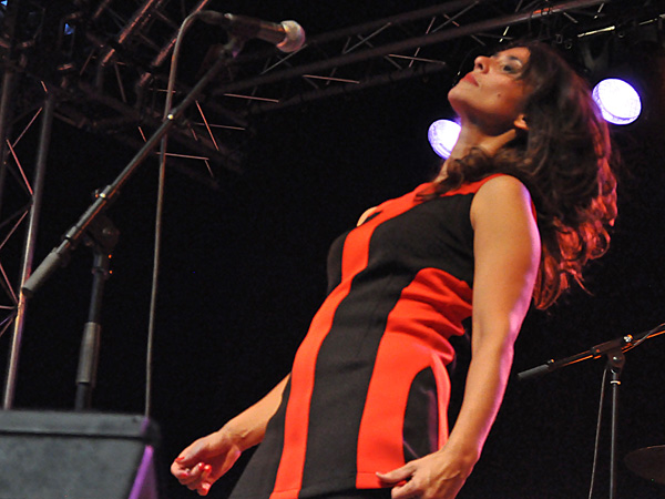 Montreux Jazz Festival 2011: Missils Airlines (indie rock from France), July 2, Music in the Park, Parc Vernex.