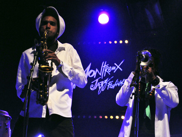 Montreux Jazz Festival 2011: Aloe Blacc, July 3, Miles Davis Hall.