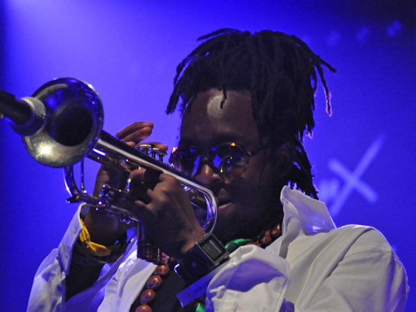 Montreux Jazz Festival 2011: Aloe Blacc, July 3, Miles Davis Hall.