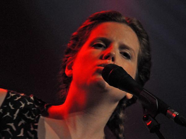 Montreux Jazz Festival 2011: Olivia Pedroli, July 5, Miles Davis Hall. Feat. Fauve (progr, voc), Stéphane Blok (piano, voc), Denis Corboz (tpt) and Jean-François Assy (cello).