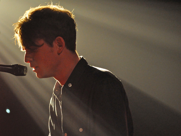 Montreux Jazz Festival 2011: James Blake, July 5, Miles Davis Hall. Sorry for the low quality... Ultralow light...