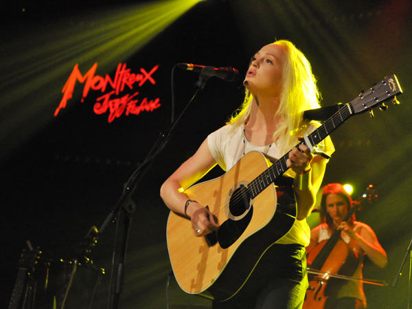 Montreux Jazz Festival 2011: Laura Marling, July 5, Miles Davis Hall.