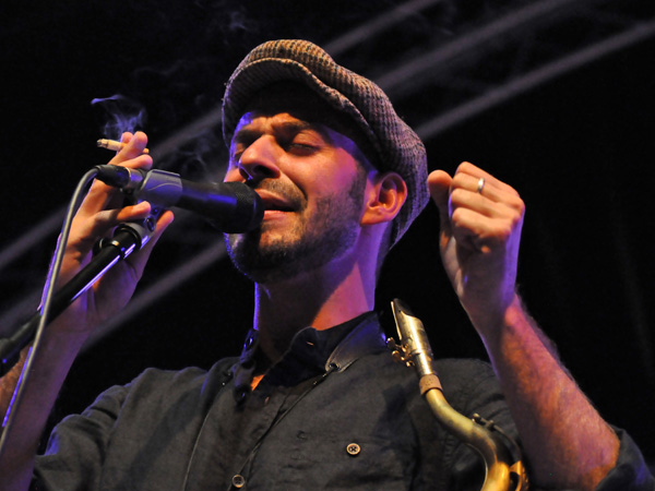 Montreux Jazz Festival 2011: Muhi Tahiri & Friends (gypsy music), July 7, Music in the Park (Parc Vernex).