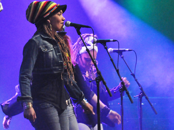 Montreux Jazz Festival 2011: Alpha Blondy & the Solar System, July 8, Auditorium Stravinski.