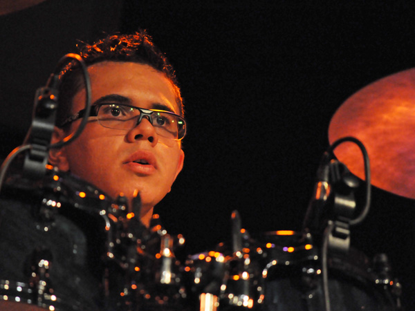 Montreux Jazz Festival 2011: André Rio feat. Paulinho Leite (Brazil, carnival & forró from Pernambuco), July 9, Music in the Park (Parc Vernex).