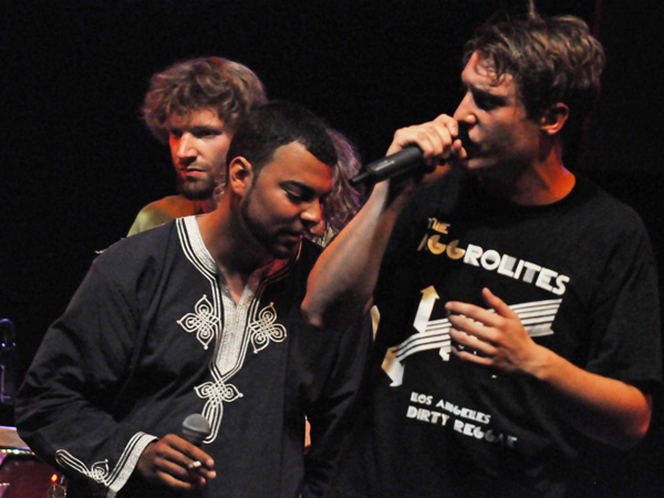 Montreux Jazz Festival 2011: Todos Destinos (ska-punk from Romont, Switzerland), July 10, Music in the Park (Parc Vernex).