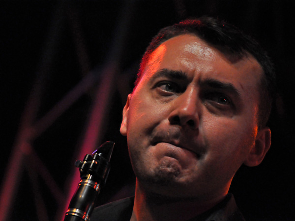 Montreux Jazz Festival 2011: Kolektifistanbul (world music from Turkey), July 12, Music in the Park (Parc Vernex).