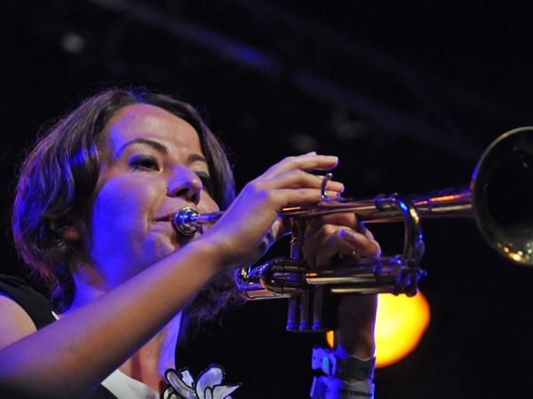 Montreux Jazz Festival 2011: Kolektifistanbul (world music from Turkey), July 12, Music in the Park (Parc Vernex).