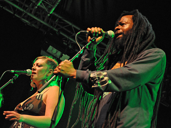 Montreux Jazz Festival 2011: Errol Organs (reggae from Jamaica), July 15, Music in the Park (Parc Vernex).