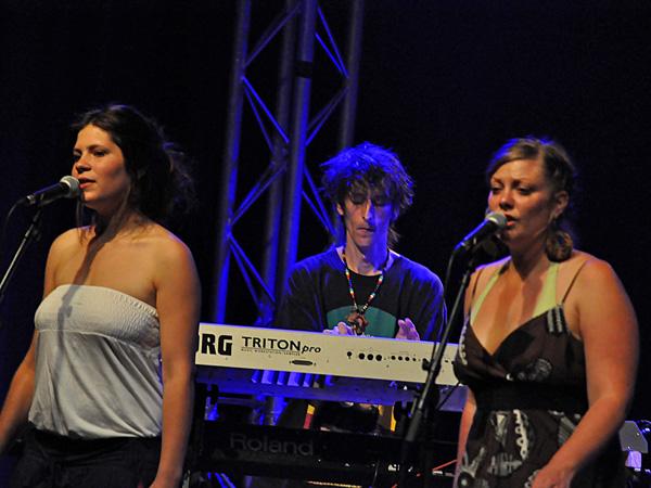 Montreux Jazz Festival 2011: Errol Organs (reggae from Jamaica), July 15, Music in the Park (Parc Vernex).