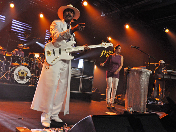 Montreux Jazz Festival 2011: Larry Graham, July 16, Miles Davis Hall.