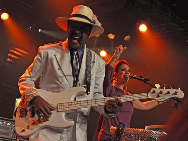 Montreux Jazz Festival 2011: Larry Graham, July 16, Miles Davis Hall.