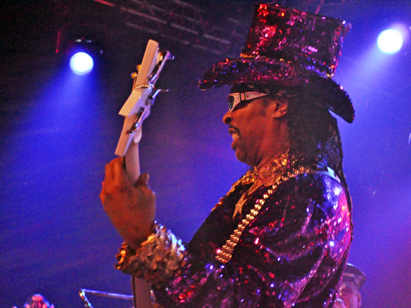 Montreux Jazz Festival 2011: Bootsy Collins, July 16, Miles Davis Hall.