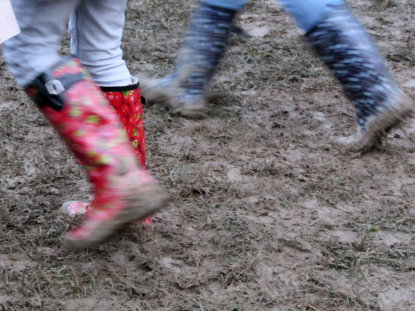 Paléo Festival 2011, Nyon: Ambiances boueuses et humides...