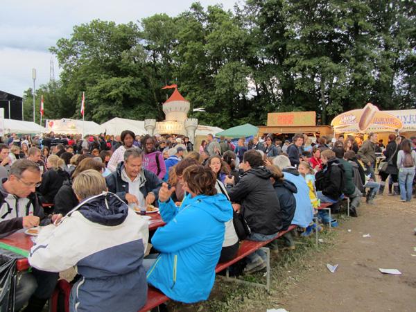 Paléo Festival 2011, Nyon: Ambiances festives...