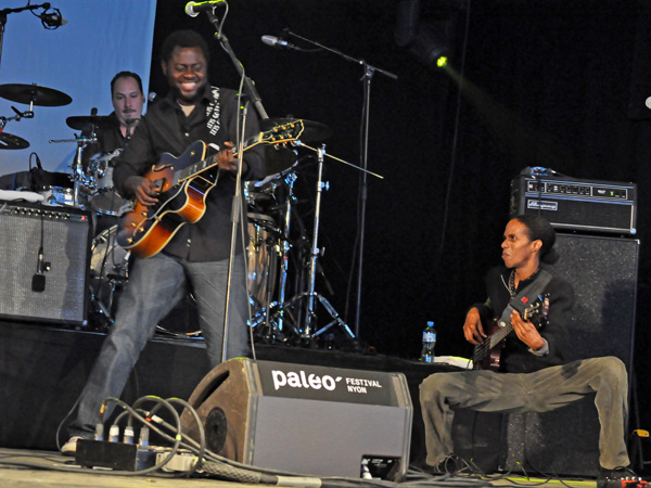 Paléo Festival 2011, Nyon: Calypso Rose, July 19, Dôme.