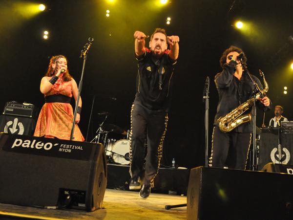 Paléo Festival 2011, Nyon: Los de Abajo, July 20, Dôme.