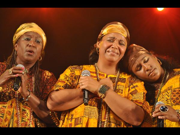 Paléo Festival 2011, Nyon: The Creole Choir of Cuba, July 22, Dôme.