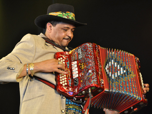 Paléo Festival 2011, Nyon: Joaquin Diaz, July 23, Dôme.