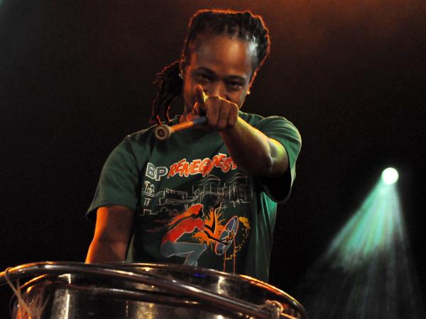 Paléo Festival 2011, Nyon: Renegades Steel Orchestra, July 23, Dôme.