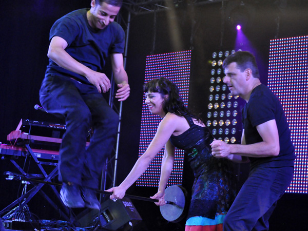 Paléo Festival 2011, Nyon: Karimouche, July 24, Club Tent.