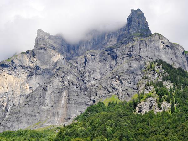 Le célèbre Cirque du Fer à Cheval (Sixt), près de Samoëns (Haute-Savoie), 31 juillet 2011.