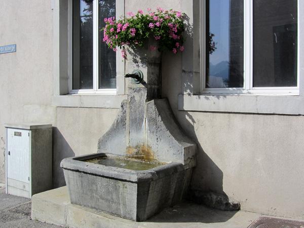 Balade en images à Territet-Montreux, 2 août 2011.