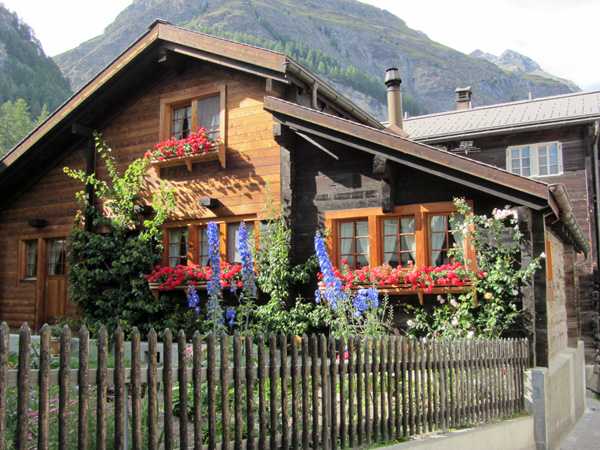 A la découverte de Zermatt, 13 août 2011.