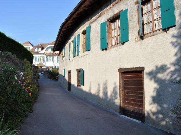 Chexbres en Lavaux, village vigneron surnommé le Balcon du Léman, automne 2011.