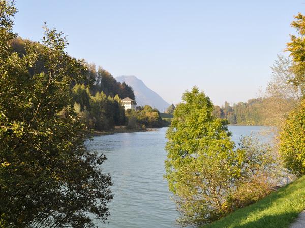 Montbovon, tout au bout de la vallée de l'Intyamon (Gruyère), octobre 2011.