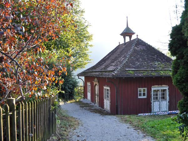 Rossinière, Pays-d'Enhaut, octobre 2011.
