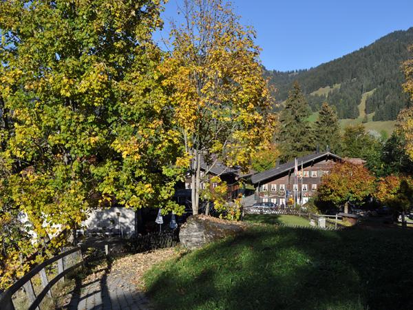 Gsteig, au-dessus de Gstaad (Saanenland), au pied du Sanetsch, octobre 2011.