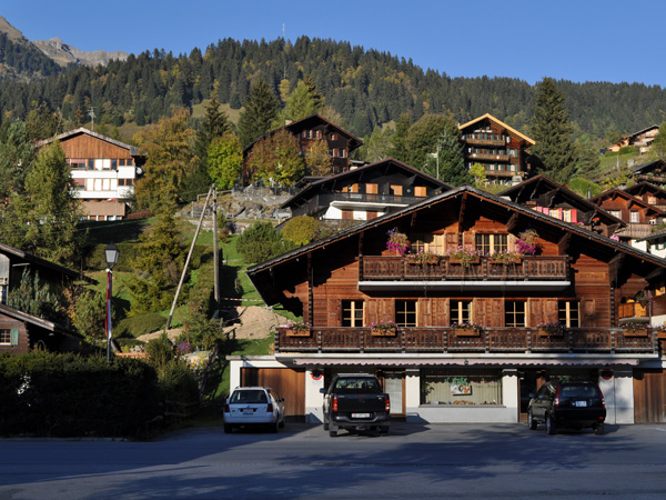 Les Diablerets, dans les Alpes Vaudoises, octobre 2011.