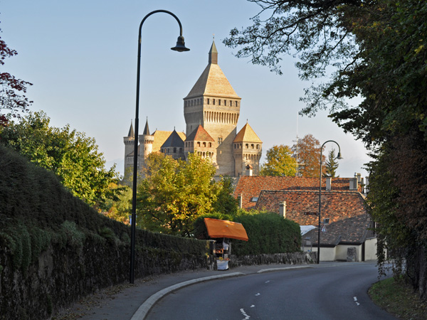 Du côté de Vufflens-le-Château, sur La Côte, octobre 2011.