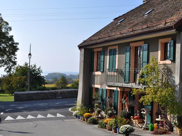 Le village d'Allaman, sur La Côte, octobre 2011.