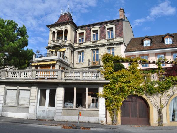 Le magnifique village de Lutry, en Lavaux, octobre 2011.